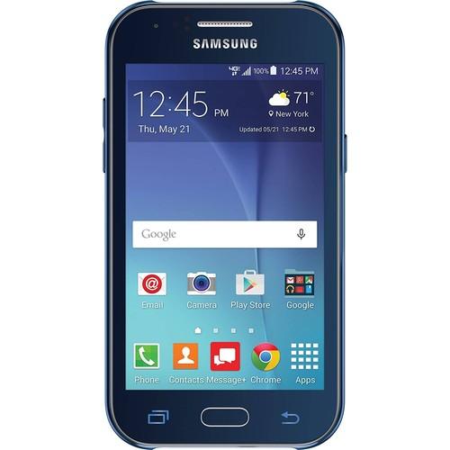 Verizon Prepaid - Samsung Galaxy J1 4G LTE with 8GB Memory Prepaid Cell Phone - Blue $31.99