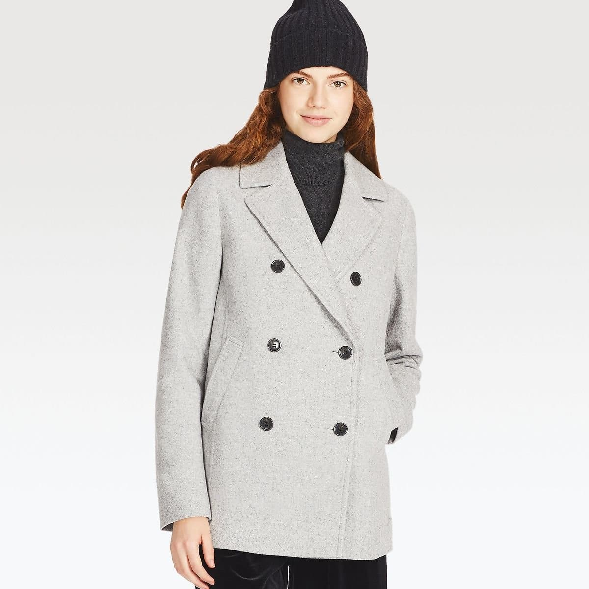 Women Wool-Blend Peacoat $59.90 $59.89