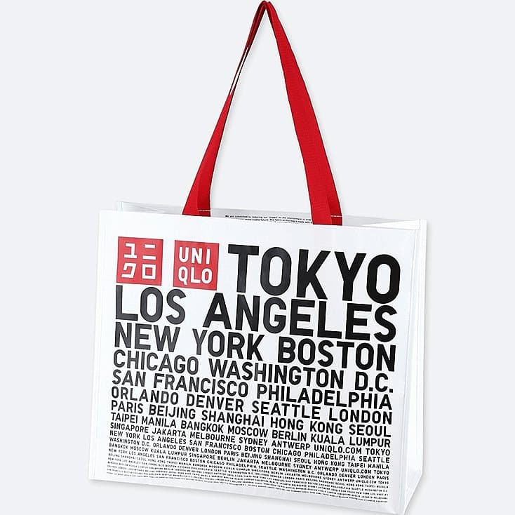 Uniqlo Eco Tote Bag - BOGO for $2 + Free Shipping