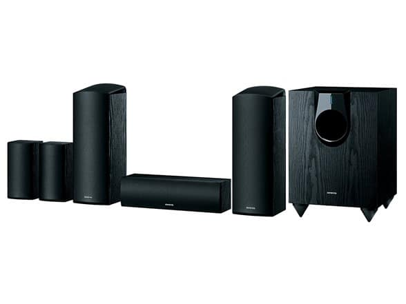 Onkyo SKS-HT594 5.1.2-Channel Home Theater Speaker System ($199.99 + $5 S&H)