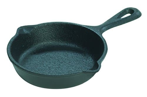 Lodge LMS3 3.5-inch Pre-Seasoned Cast Iron Mini Skillet. $3.97 at Walmart or at Amazon as Add-on