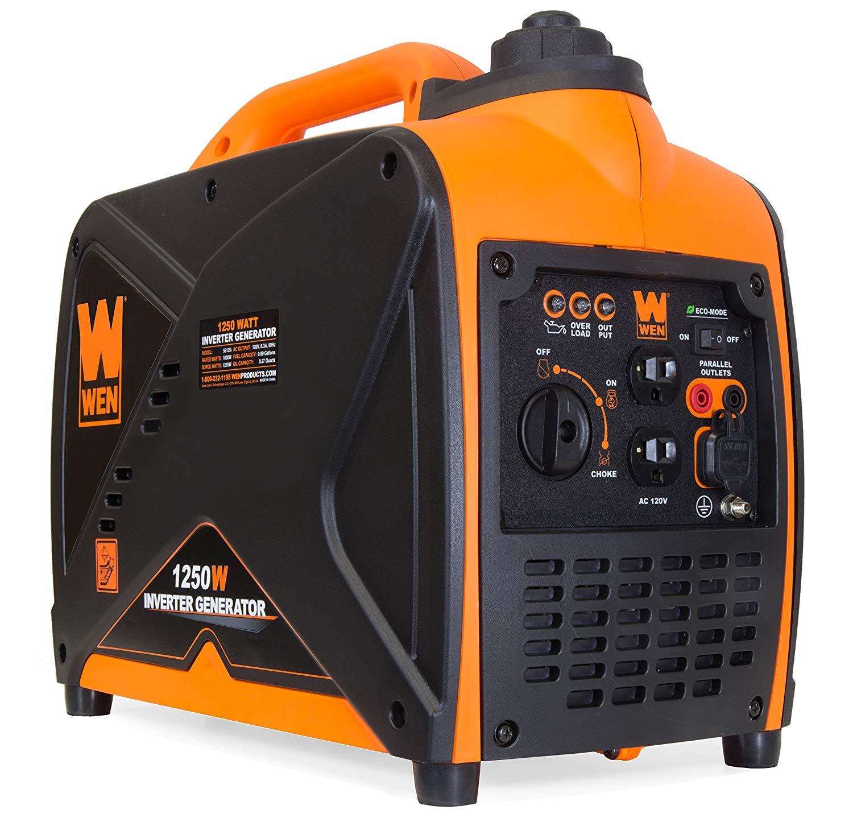 WEN 56125i Super Quiet 1250-Watt Portable Inverter Generator, CARB