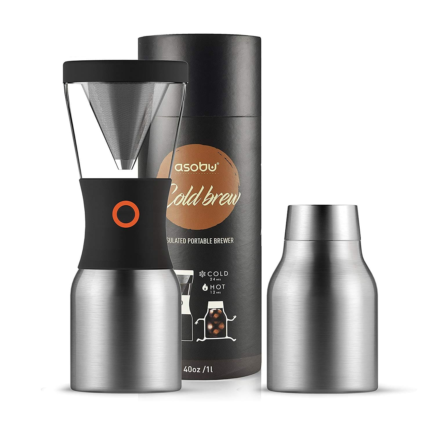 Asobu Portable Cold Brew Coffee Maker (Various Colors) $19.99