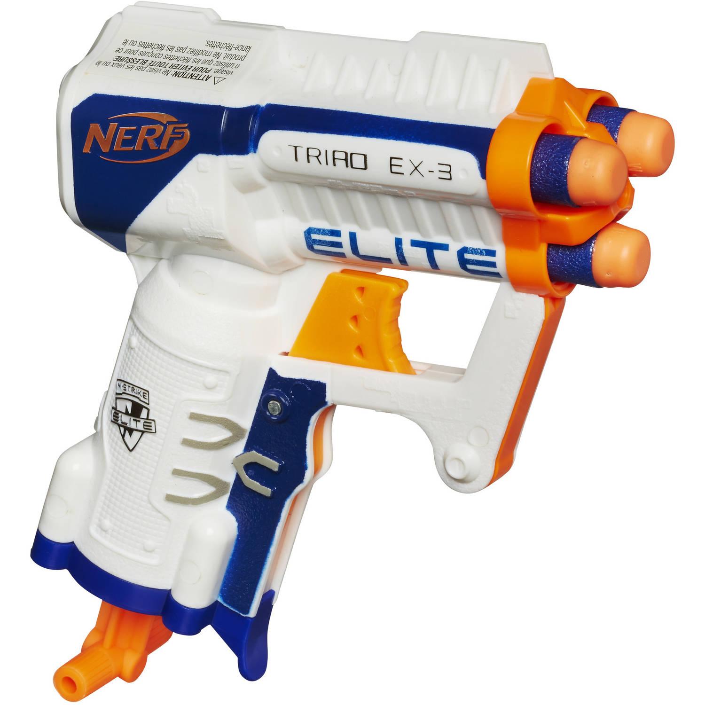 NERF N-Strike Elite Triad EX-3 Toy $3 49