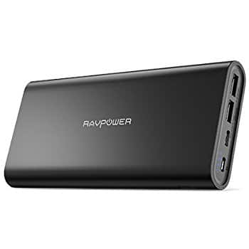 RAVPower 26800mAh USB C Battery Pack $46.99