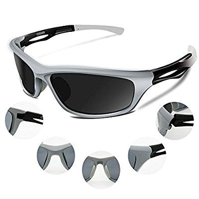 COSVER Mens Polarized Sports Sunglasses $10.50 AC