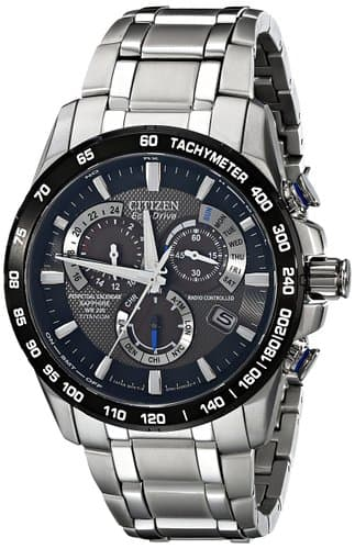 Citizen Eco-Drive Men's AT4010-50E Titanium Perpetual Chrono A-T Watch - Amazon - $245.41