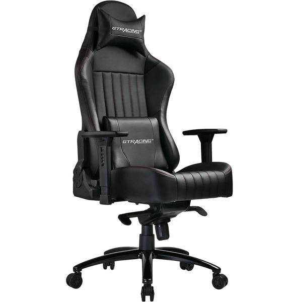 GTRacing Gaming Chair - LUXURY Series // GTK002-BLACK $214 + tax, free shipping