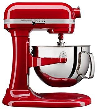 KitchenAid 6QT Professional Mixer - Refurb Candy Red $215