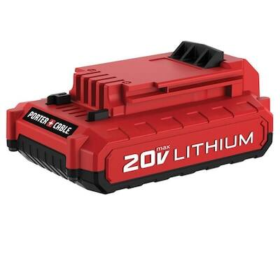 PORTER-CABLE 20-Volt Max 2 Amp-Hour Lithium Power Tool Battery $17.49 YMMV
