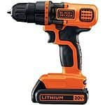 Amazon: Black & Decker LDX120C 20-Volt MAX Lithium-Ion Cordless Drill/Driver - $44.99
