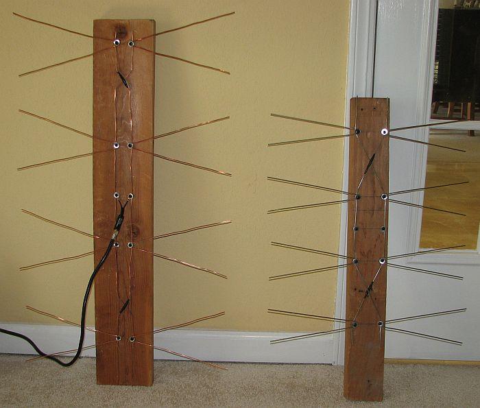 DIY Coat Hanger UHF HDTV OTA Antenna FTW!!!