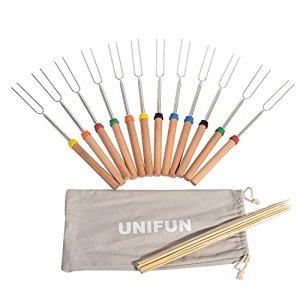 "12 PCS 32"" Extendable Roasting Sticks with 12 Free Bamboo Sticks $18.99 AC @ Amazon (FIXED COUPON CODE)"