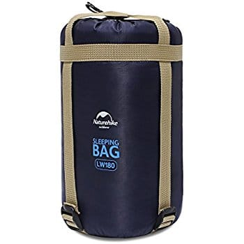 HAITRAL Portable Summer Sleeping Bag With Compression Sack Lightweight Waterproof Envelope for Camping,Traveling or Outdoor Activities $17.99