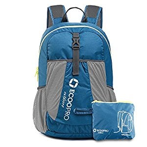 ECOOPRO Lightweight Packable Backpack Travel Hiking Daypack, Durable Small Backpack Handy Foldable Camping Outdoor $9.51
