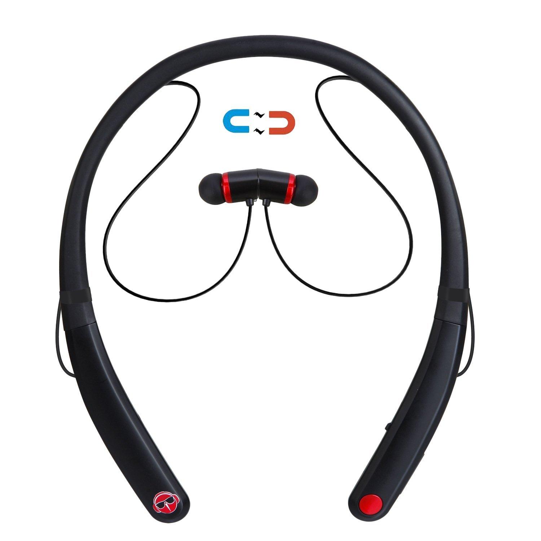 Matone Bluetooth Neckband Headphones $9.09 & iPhone X case, iPhone X screen protector from $3.59