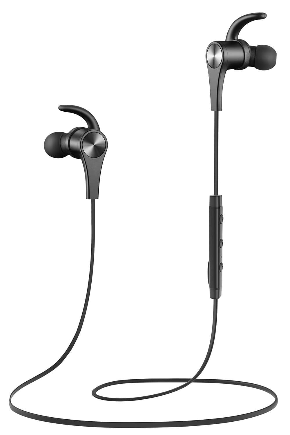 SoundPEATS Q12 Magnetic Wireless Bluetooth Headphones With Mic  after  coupon for $19.50