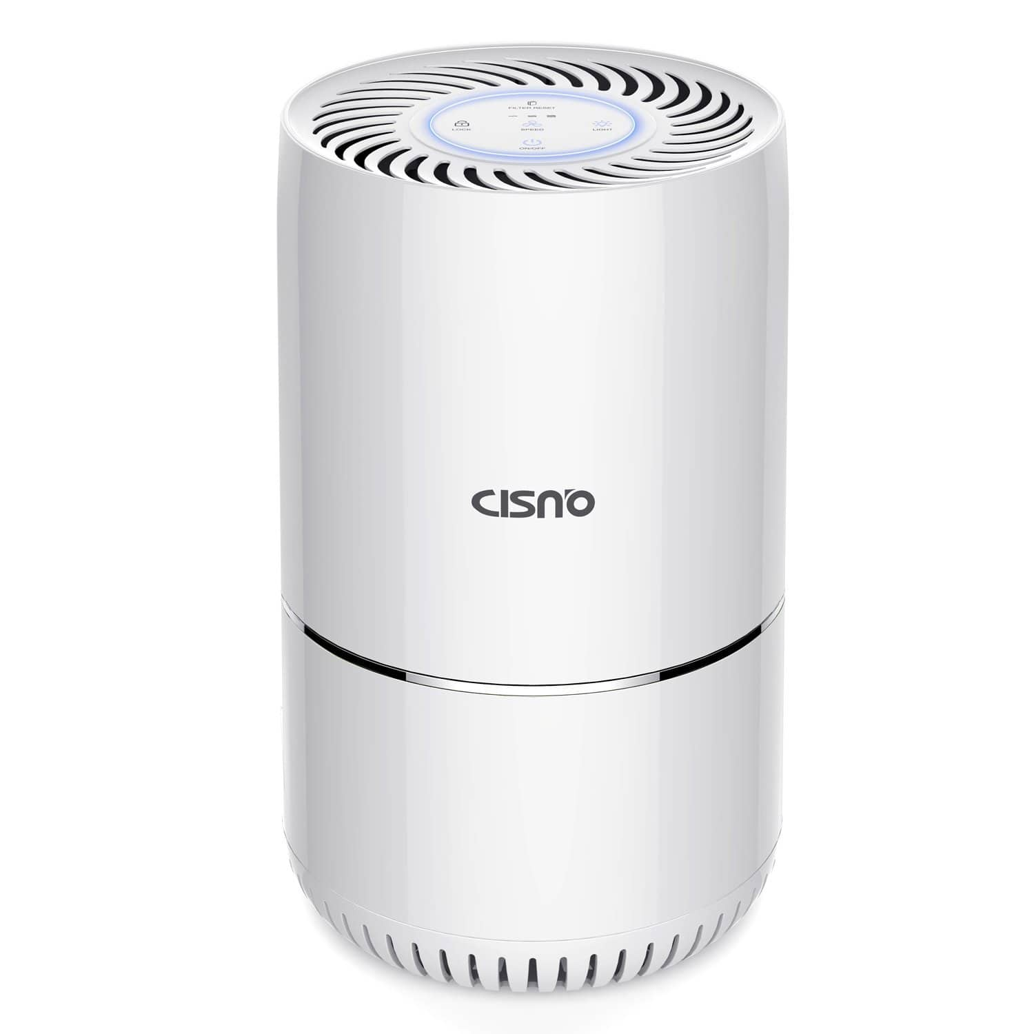 CISNO Air Purifier With True HEPA Filter, $52.70