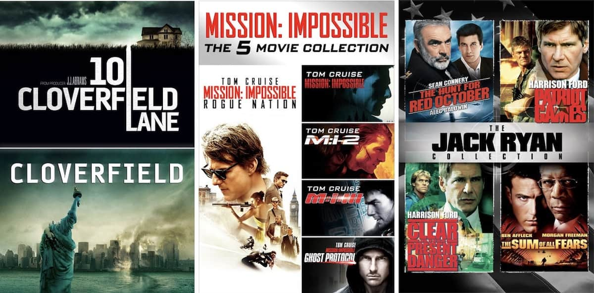 iTunes Discounts on Movies 4K and HD : Cloverfield, Mission Impossible, Jack Ryan, Get Out, Baby Driver and more $9.99