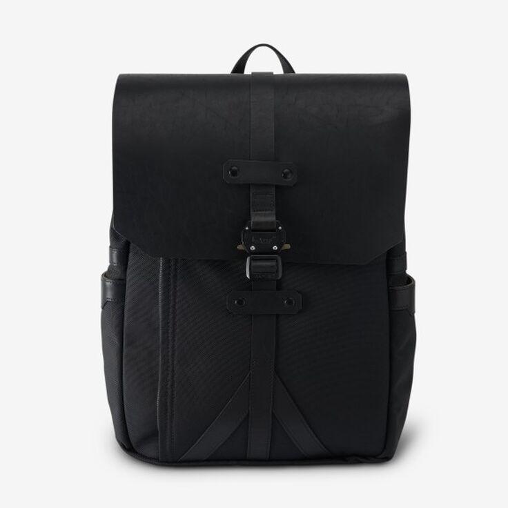Allen Edmonds twill flap backpack (black or olive) $99.97 (Msrp $550)
