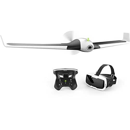 Parrot Disco Fixed-Wing Drone with FHD Camera, Skycontroller 2, Cockpitglasses $799