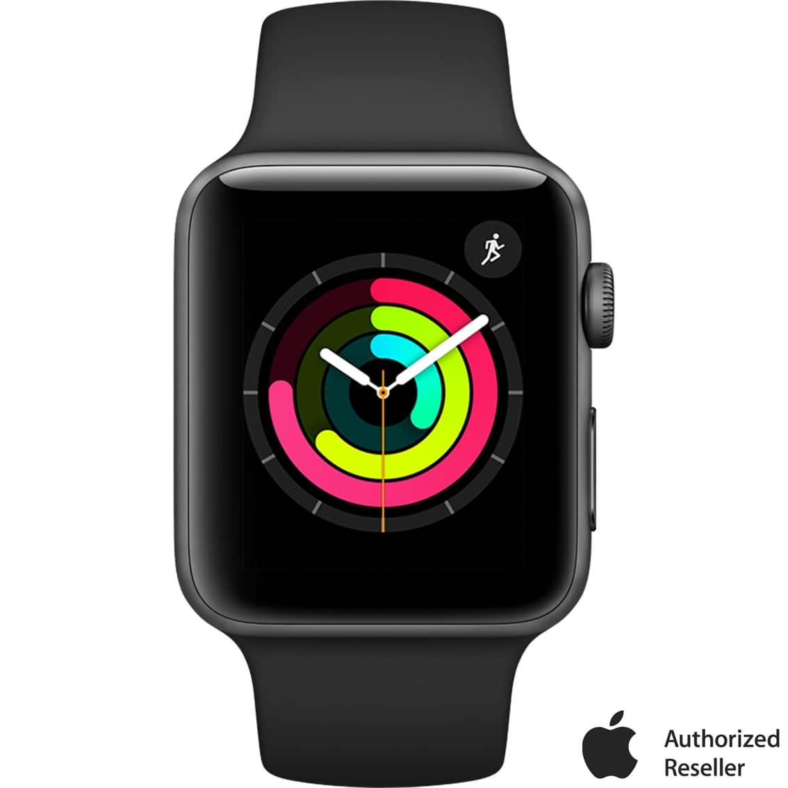 AAFES/Military Apple Watch Series 3 GPS Space Gray Aluminum Case with Black Sport Band $208