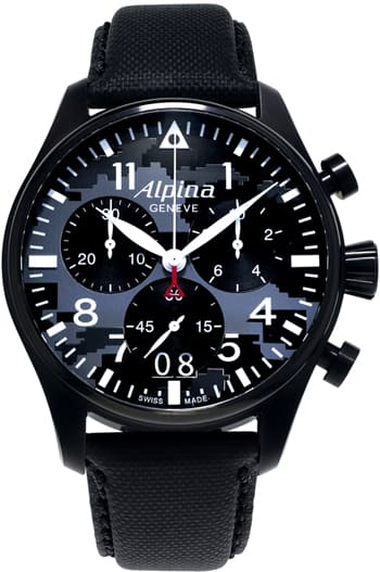 Alpina Startimer Pilot Camouflage Chronograph Men's Watches $299
