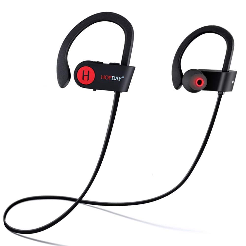 Lightning Deal: HOPDAY waterproof Bluetooth Earbuds w/mic, noise canceling $14.99 FS