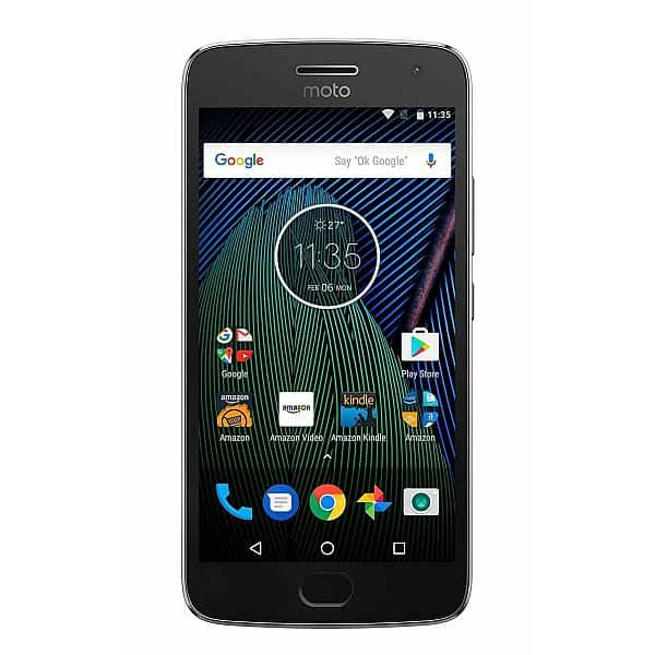 Prime Member Exclusive 64GB/4GB Motorola G5 Plus Unlocked Smart Phone $209.99
