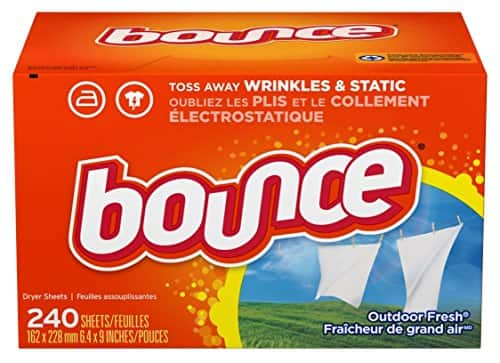 Bounce Fabric Softener and Dryer Sheets, Outdoor Fresh, 240 Count $5.81