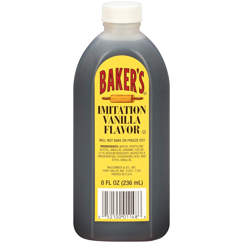 Baker's Imitation Vanilla Flavor, 8 fl oz - 98 cents Prime Delivery