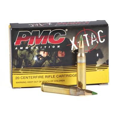 AMMO:PMC X-TAC 5.56x45 mm, 62-gr. M855 500 Rnds - $194 shipped