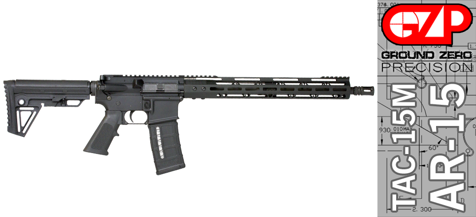 GUNS: Ground Zero Precision Complete AR-15 rifle for ~$390 shipped