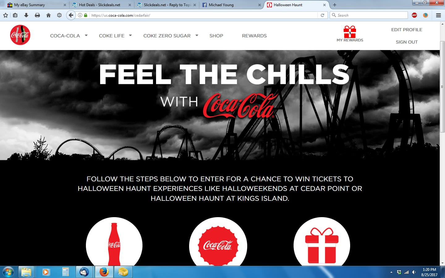 Halloween haunt promo code my coke rewards mcr coca cola com offers discussion thread