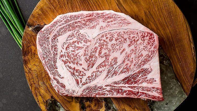 ***New Customers***  14 oz A5 Wagyu ribeye steak from Japan + 2 lbs of American Wagyu ground beef + filler $75 At CrowdCow.com