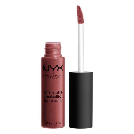 NYX Soft Matte Metallic Lip Cream, Rome $1.56