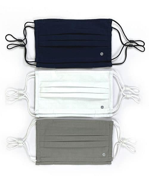 Reusable cotton Face Mask with Inner pocket for filters 6-Pack $25
