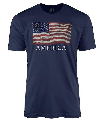 Men's Americana tees $4.79