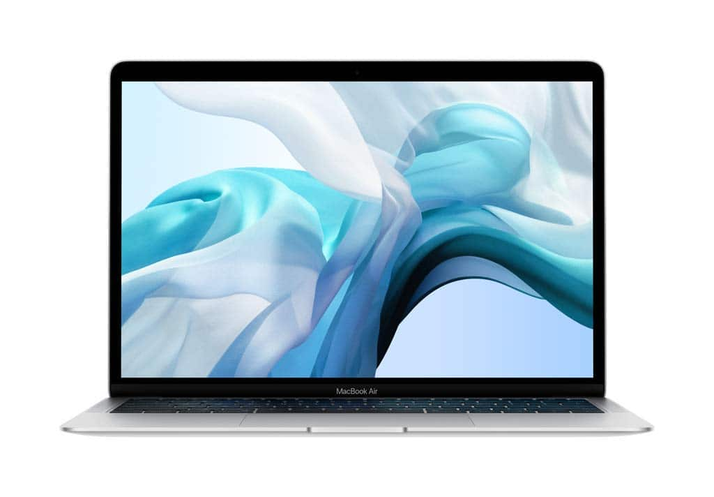Apple MacBook Air (13-inch Retina display, 1.6GHz dual-core Intel Core i5, 256GB) - Silver (Previous Model) - $647.86 or 128GB for $566.74