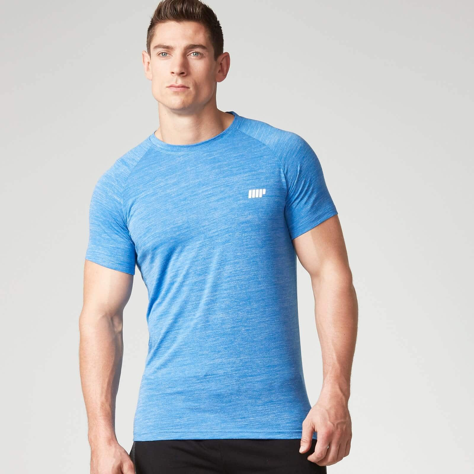 50% off all workout clothing at MyProtein — Men's Fast-Track Shirt $8.25, Women's Tie Back Vest $5.62