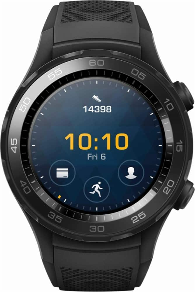 Huawei Watch 2 Sport Android Wear 2.0 Smartwatch 45mm (Carbon Black) - $234 after 10% Cash Back with Chase Pay App