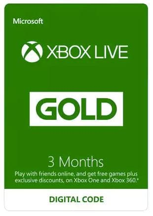 Bonus Sea of Thieves DLC with 3 Months Xbox Live Gold Membership