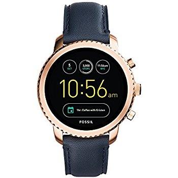 Fossil Gen 3 Smartwatch Q Explorist Navy Leather $153