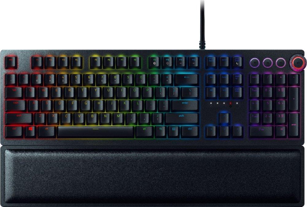 Razer Huntsman Elite Opto-Mechanical Switch Keyboard + Viper Wired Mouse $179.99