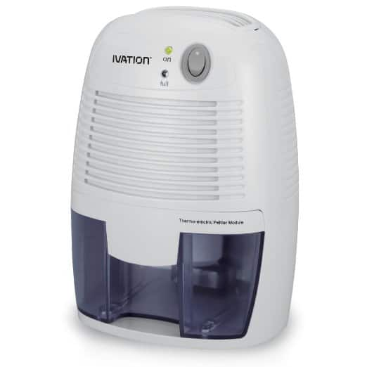 Ivation GDM20 Thermo-Electric Dehumidifier, For 1,100 Cubic Feet Rooms For $34.99 (amazon deal of the day)