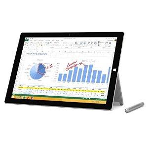 Microsoft Surface Pro 3 Intel Core i7 12in Tablet PC (8GB/256GB SSD, REFURB) $794.99 @ Amazon