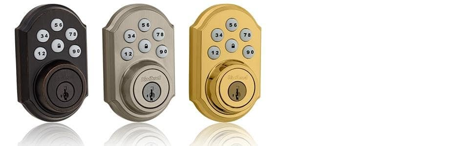 Kwikset 910 Z-Wave SmartCode Deadbolt $111-$123 @ Amazon