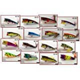 Akuna Seasonal Lures for Bass Fishing - 15 crankbaits $8.07 @ Amazon (add-on, just a few available)
