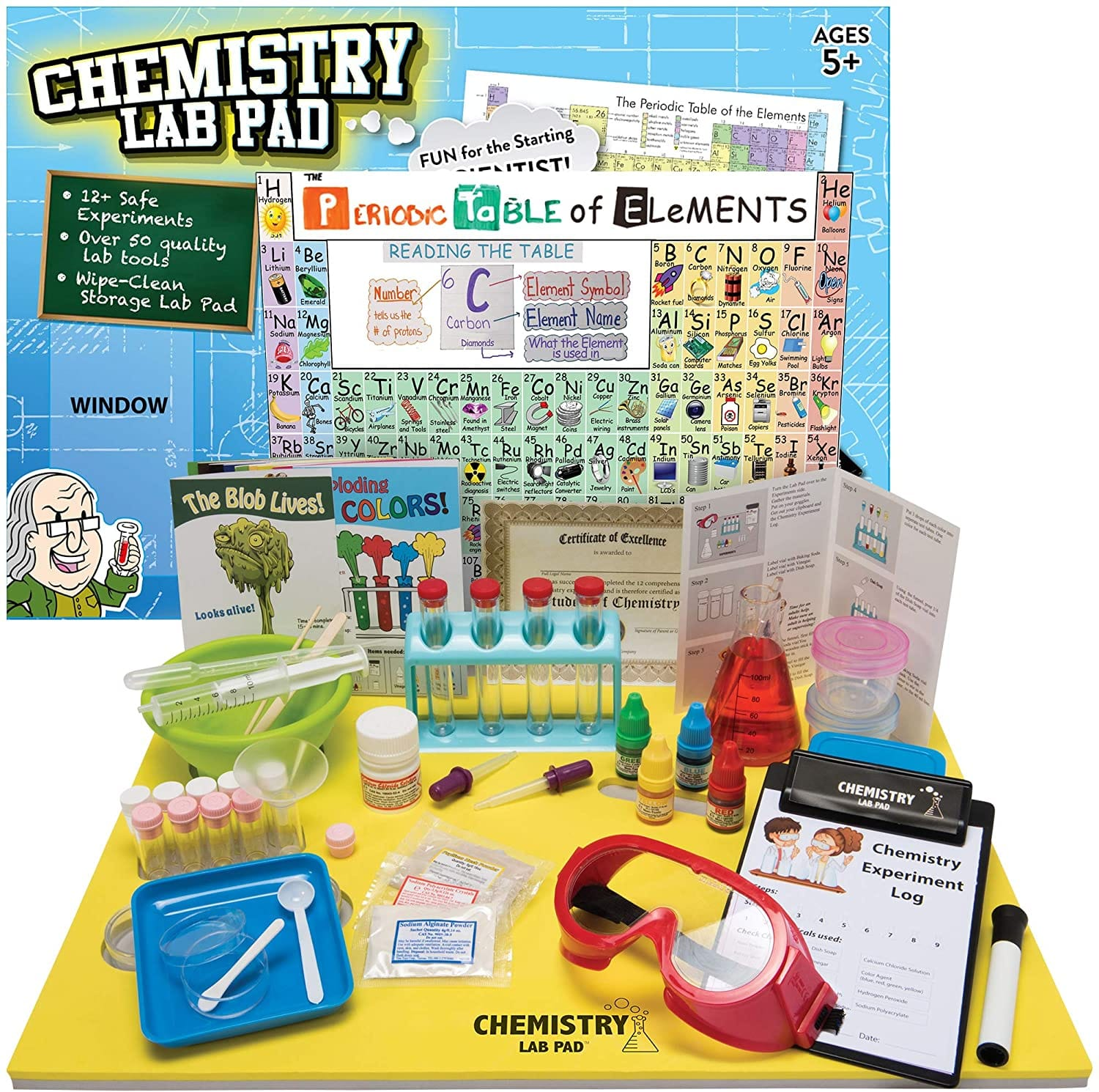 Ben Franklin Toys Chemistry Lab Pad Science Kit Ages 5+ $39.99