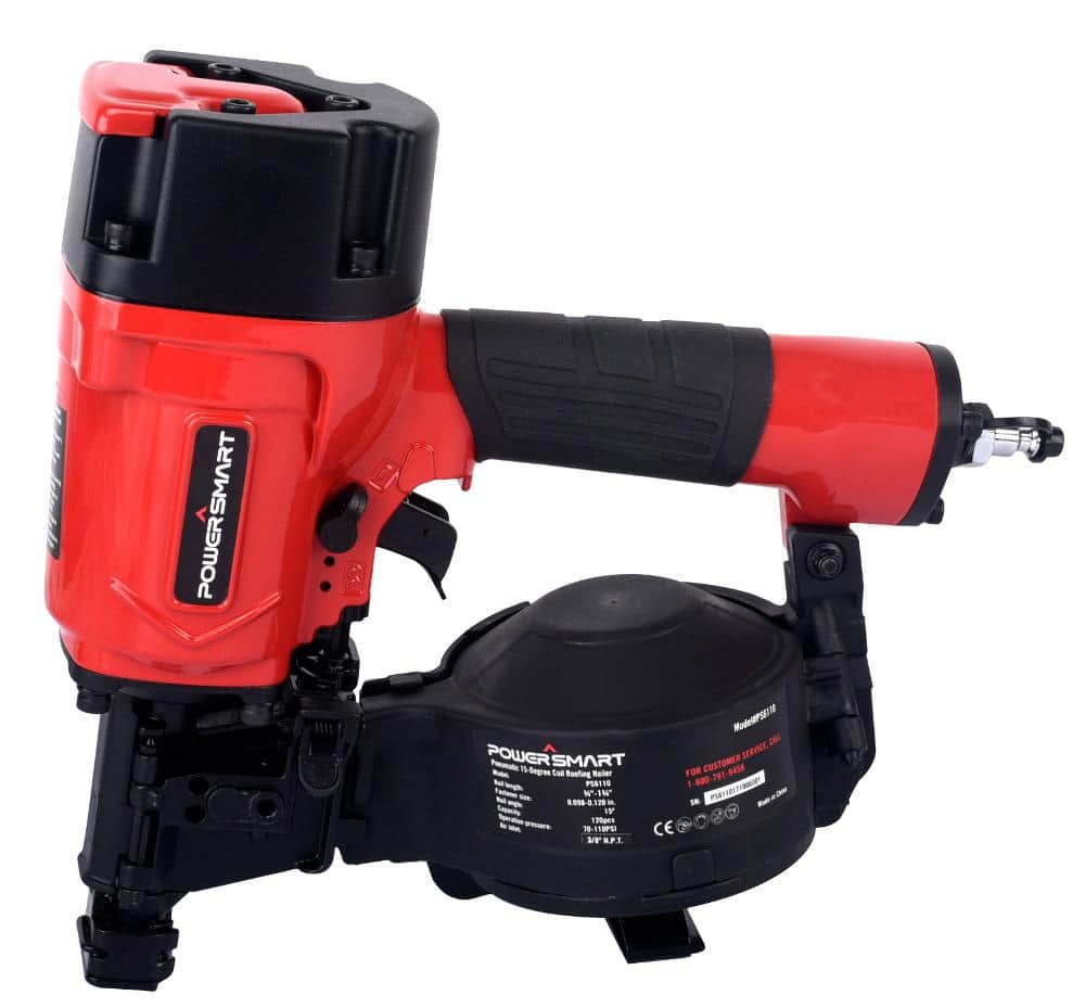 PowerSmart 15-Degree Coil Roofing Nailer $47.99 + Free Shipping